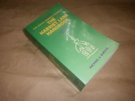 Michael Barone    THE HARRIET LANE HANDBOOK