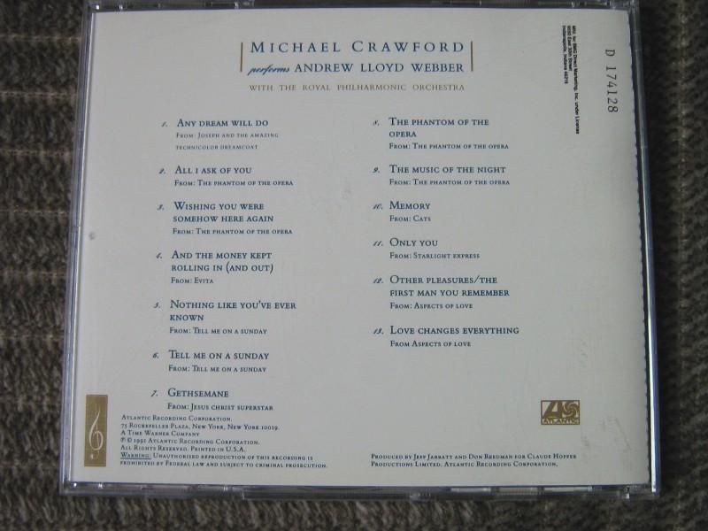 Michael Crawford - Michael Crawford Performs Andrew Lloyd Weber