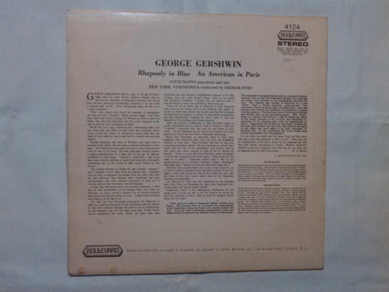 Michel Legrand Et Son Orchestre, George Gershwin - Rhapsody In Blue, An American In Paris
