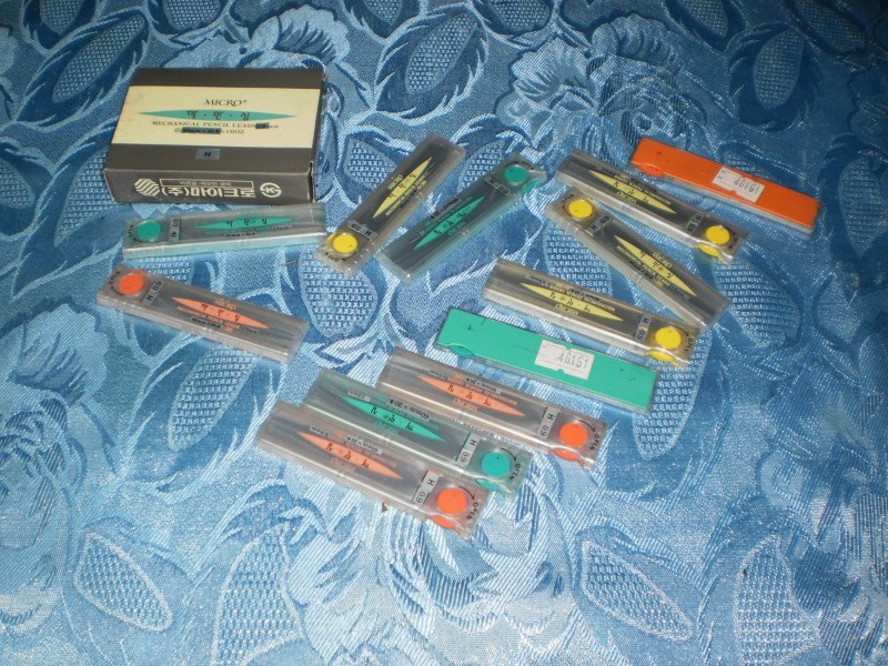 Micro Mechanical pencil Leads - 0.9 mm - 12 pakovanja