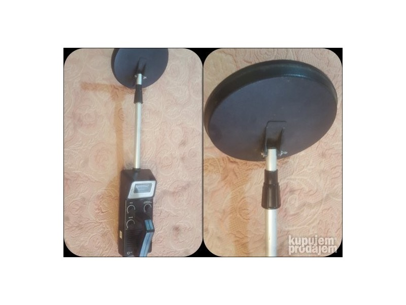 Micronta 3001 metal detector manual