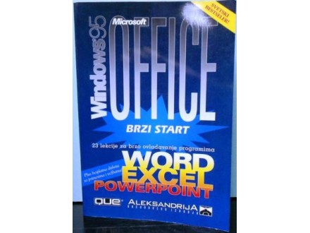 Microsoft OFFICE  za Windows 95 -  brzi start