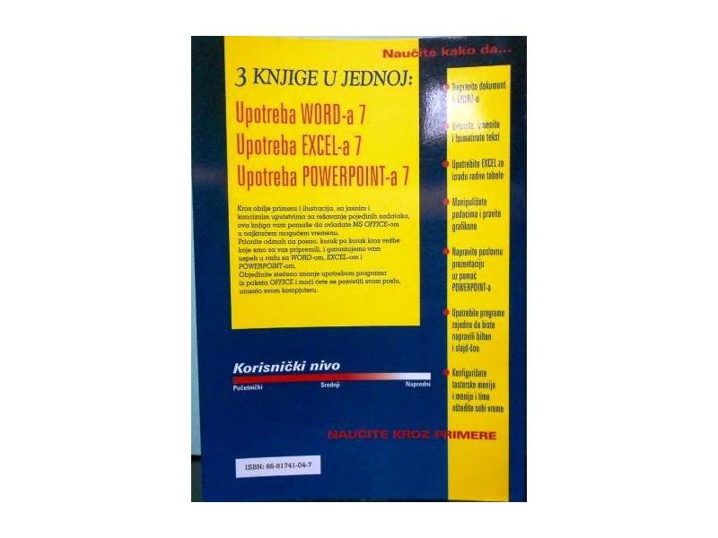 Microsoft OFFICE  za Windows 95