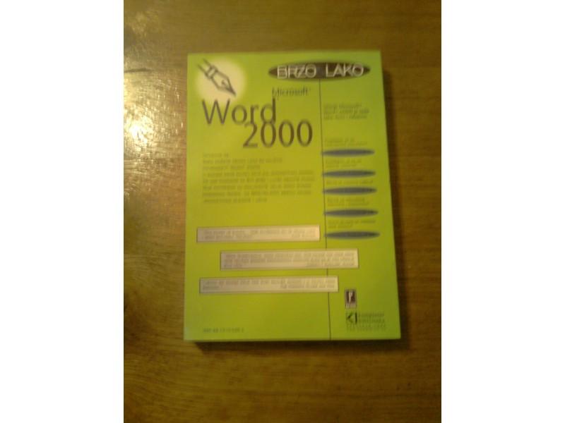 Microsoft Word 2000
