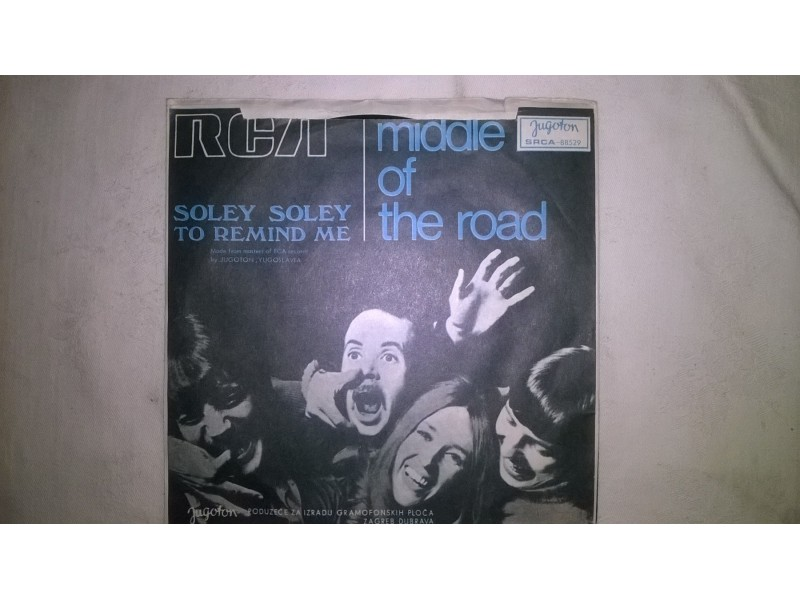 Middle Of The Road ‎– Soley Soley