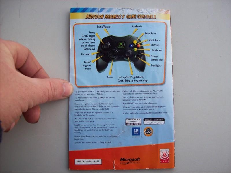 Midtown Madness 3  Xbox  uputstvo za igricu
