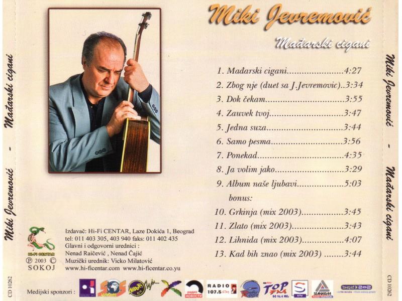 Miki Jevremović - Madjarski Cigani
