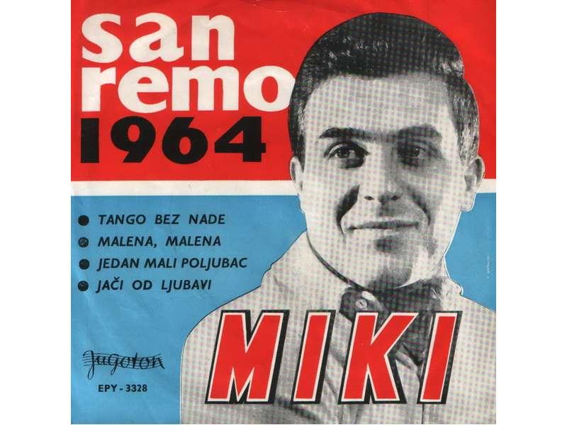 Miki Jevremović - San Remo 1964