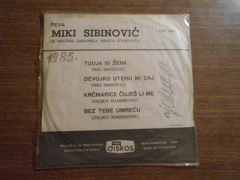 Miki Sibinović - Tudja si žena