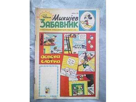 Mikijev Zabavnik,broj 22
