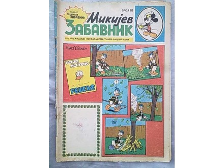 Mikijev Zabavnik,broj 28