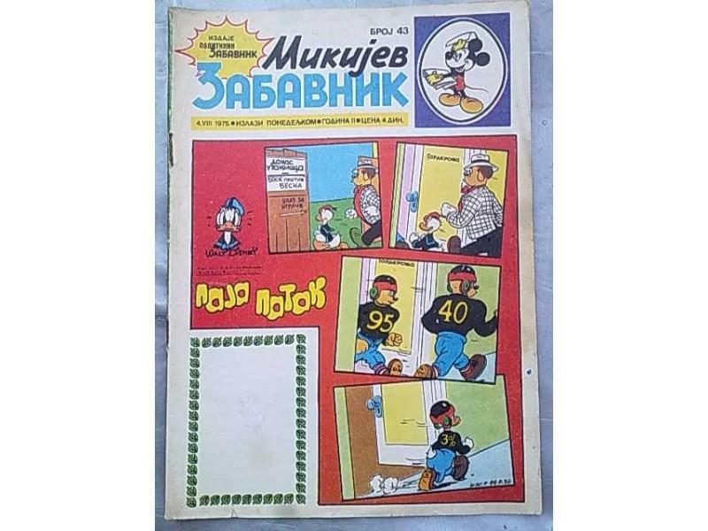 Mikijev Zabavnik,broj 43