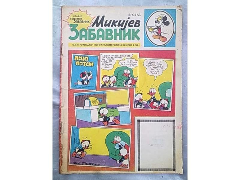 Mikijev Zabavnik,broj 53