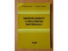 Mikroelementi u biološkom materijalu - M.Jaredić, J.Vuč