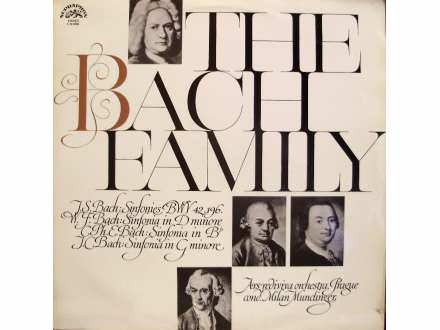 Milan Munclinger, Ars Rediviva Ensemble - The Bach Family