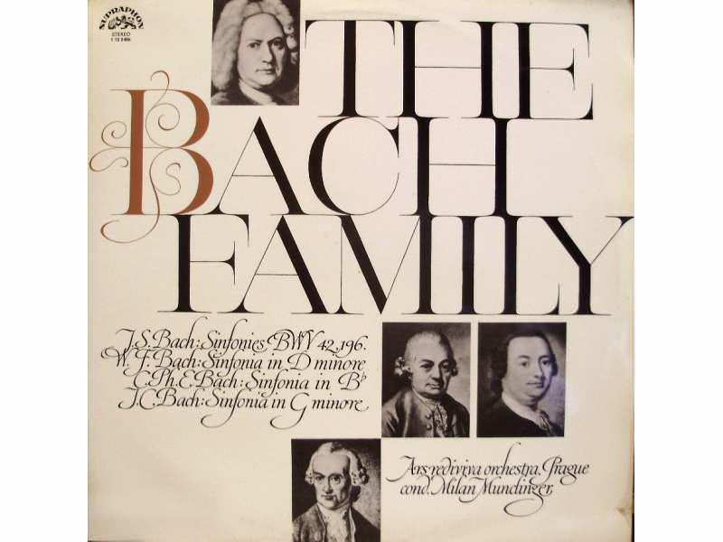 Milan Munclinger, Ars Rediviva Ensemble - The Bach Family