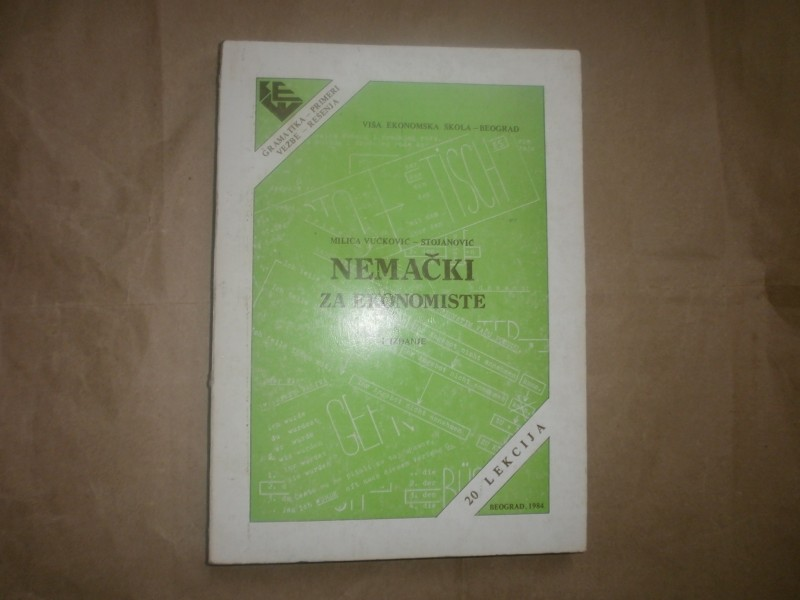 Milica Vuckovic   NEMACKI ZA EKONOMISTE