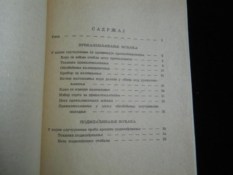 Milisav Gavrilović PREKALEMLJIVANJE I PODMLAĐIVANJE VOĆ