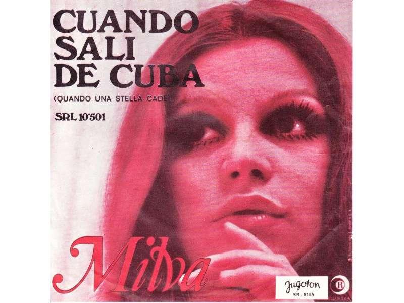 Milva - Cuando Sali De Cuba (Quando Una Stella Cade)