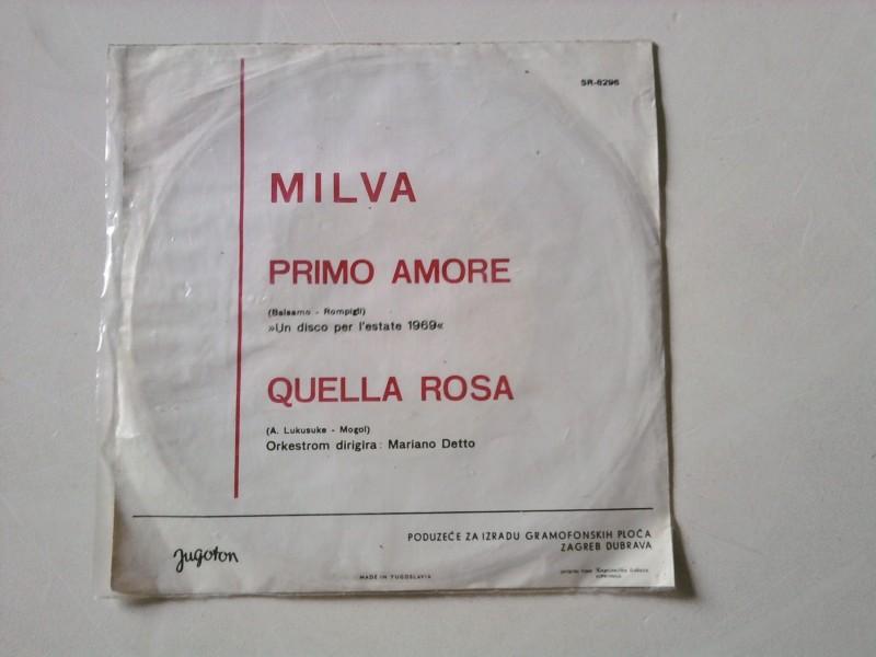 Milva - Primo Amore / Quella Rosa