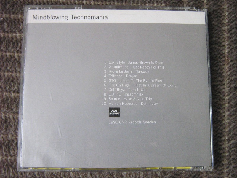 Mindblowing Technomania (Various Artists)