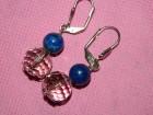 Minđuše od lapis lazuli