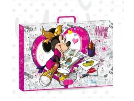 Minnie Mouse school folder A3 sa ručkom 318261