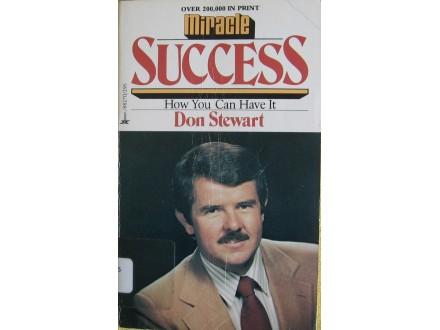 Miracle success   Don Stewart