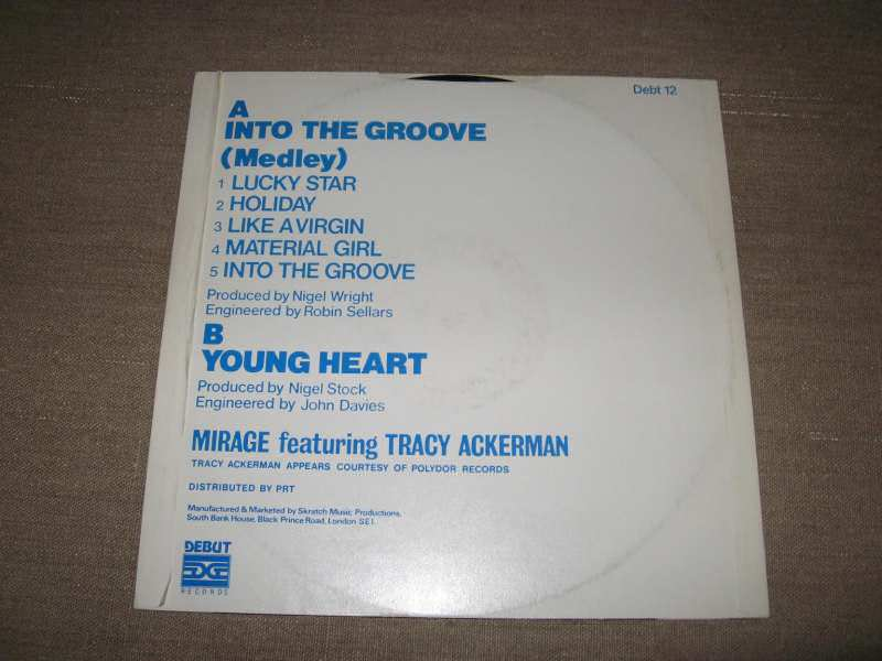 Mirage (12) - Into The Groove (Medley)