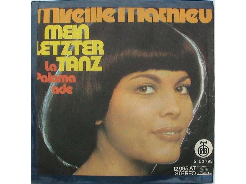 Mireille Mathieu - La Paloma Ade / Mein Letzter Tanz