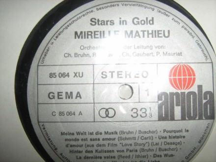 Mireille Mathieu - Stars In Gold