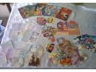 Mirisljave,Disney slicice,razgl.,pozivnice Ex  Yu lot