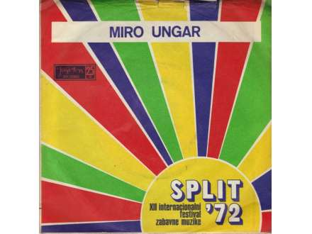 Miro Ungar - Split `72