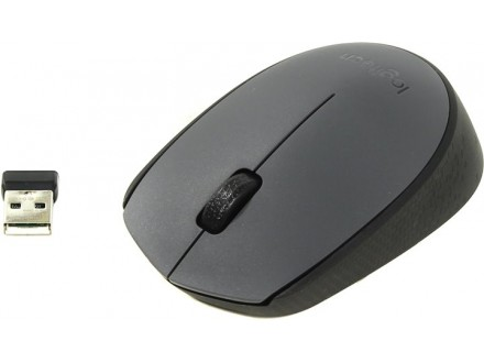 Miš Logitech M170 Wireless Mouse Gray - Garancija 2god
