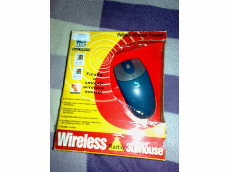 Mis Wireless A4Tech Novo!