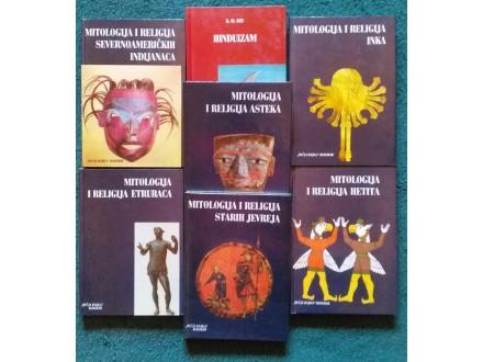 Mitologija i religija komplet 7 knjiga Decija knjiga