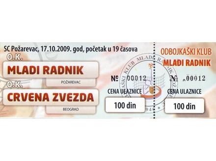 Mladi Radnik - Crvena Zvezda   ,   2009.god.