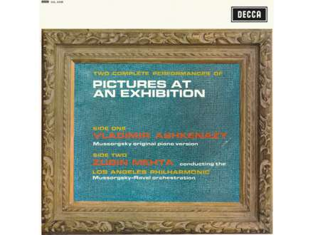 Modest Mussorgsky, Maurice Ravel, Vladimir Ashkenazy, Zubin Mehta, Los Angeles Philharmonic Orchestra - Two Complete Performances Of Pictures At An Exhibition