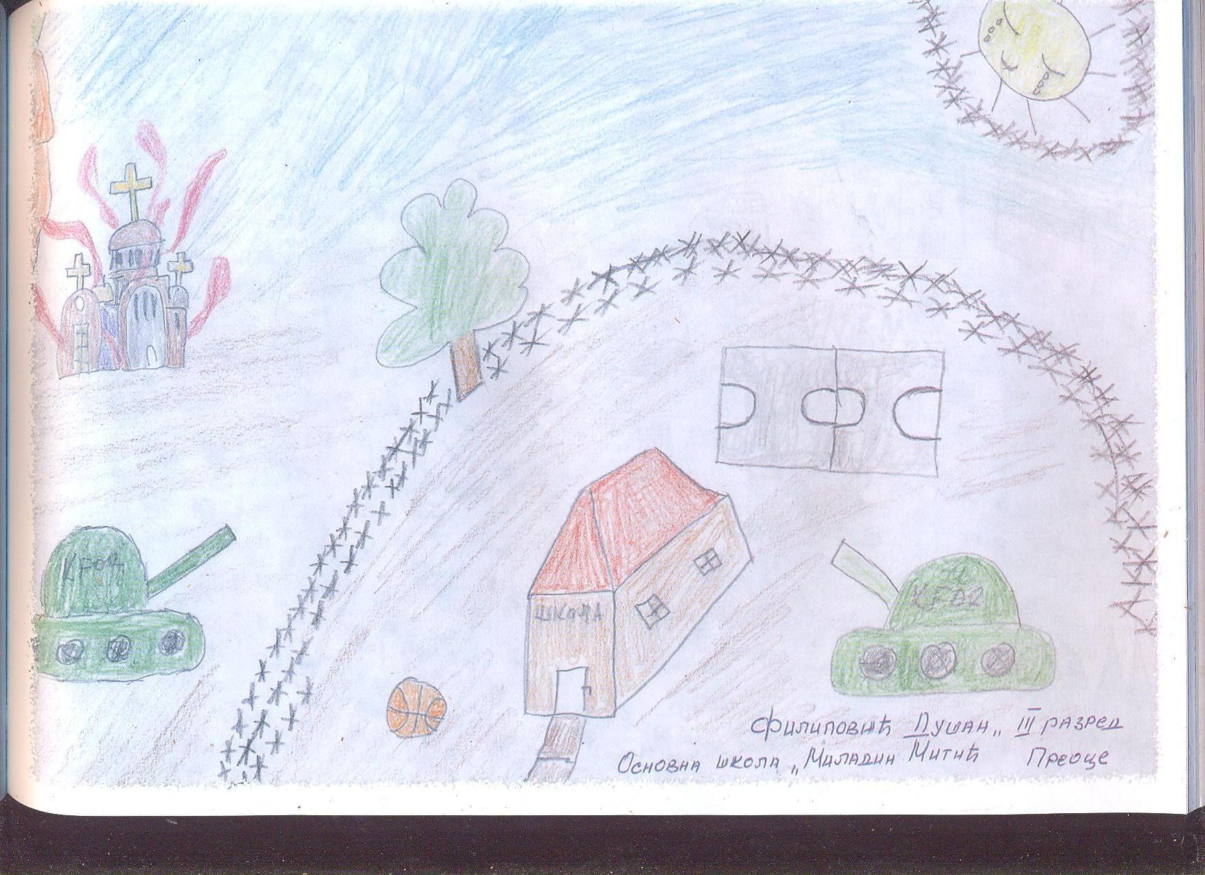Moje Detinjstvo Crteži Srpske Dece Kosova I Metohije