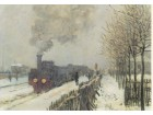 Mone / CLAUDE MONET - La Locomotive