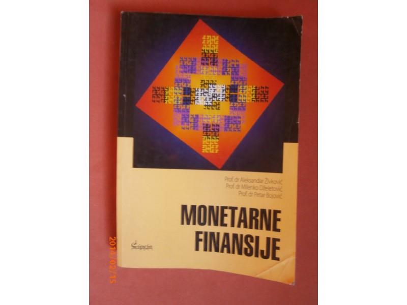 Monetarne finansije, Aleksandar Zivkovic