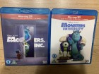 Monsters Inc &;; Monsters University 3d i 2d blu ray