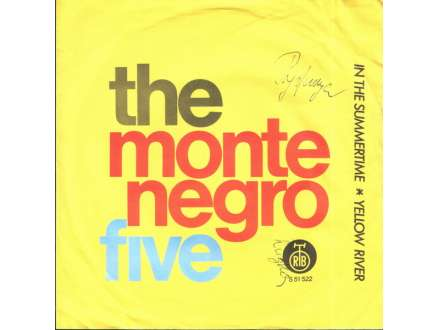 Montenegro Five, The - In The Summertime / Yellow River
