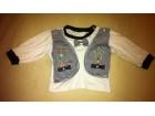 Mornarska majica dug rukav za bebe 6mes