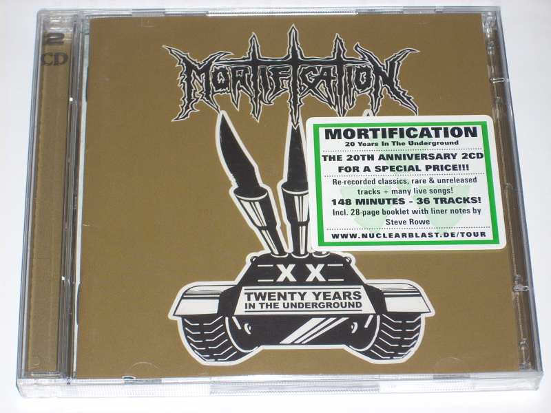 Mortification - Twenty Years In The Underground