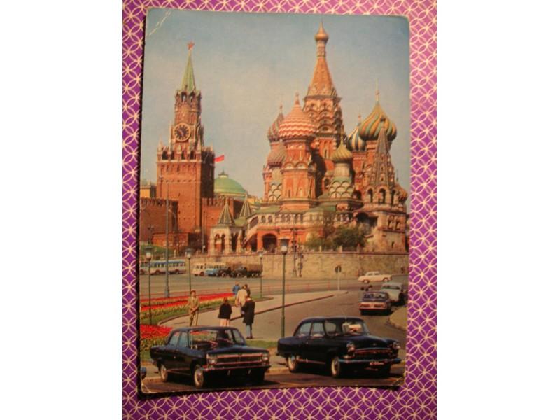 Moskva -Spasso kula Kremlja