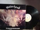 Motörhead – No Sleep `til Hammersmith LP Jugoton