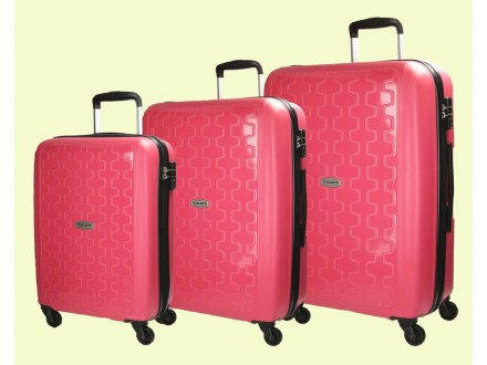 Movom kofer Zig Zag 5399453 S pink