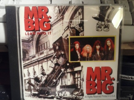 Mr.Big - Lean Into It