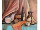 Mrtva priroda-ulje na platnu 54 x 46 - umetnicka slika
